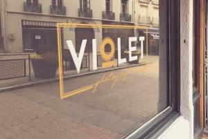 商店橱窗标志设计效果图样机模板 Shop Window Logo Mockup插图2