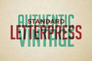 复古活版印刷效果图层样式 Vintage Letterpress Effects Vol.2插图2