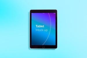 平板电脑APP&网站设计演示样机模板 Isolated Tablet Mock-up插图5