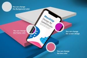 iPhone XS智能手机UI设计预览样机V2 iPhone XS V.2插图8