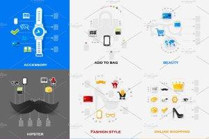 48个时尚购物信息图 48 FASHION&SHOPPING infographics插图2