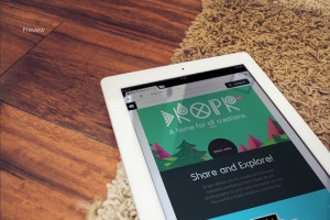 响应式网站设计iPad&Macbook显示效果样机模板 Responsive iPad Macbook Display Mock-Up插图7