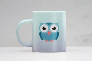 马克杯图案设计预览样机 Clean Mug Mock Up插图1