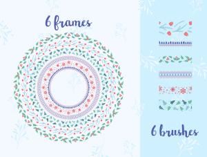 一流设计素材网下午茶:冬季广告banner设计矢量素材[Ai]插图6