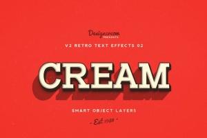 80年代复古风格文本特效PS字体样式v1 Retro Text Effects V2插图9