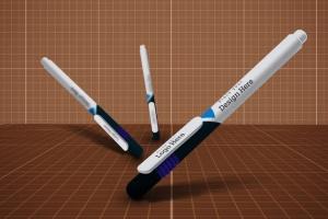 圆珠笔签字笔样机模板v9 Pen Mockup V.9插图6