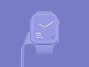 苹果第四代智能手表超级样机套装 Apple Watch 4 Mockups插图46
