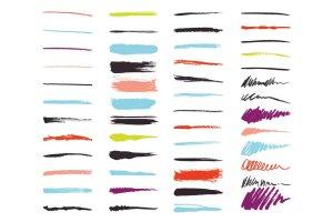 手绘艺术AI画笔笔刷 Art Brush Pack for Illustrator插图2