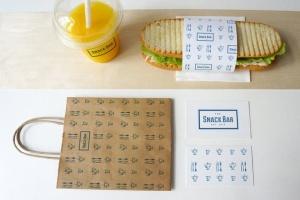 三明治咖啡馆食品品牌样机模板 Sandwich cafe Mockup插图5