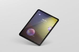iPad Pro平板电脑屏幕设备样机 Pad Pro Tablet Screen Mockup插图13