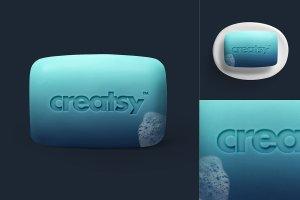 日用快消品肥皂样机模板 Soap Mockup Set插图3