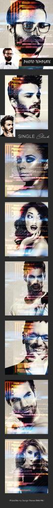 特色抽象艺术照片图层样式插图