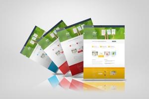 网站/网页设计效果图样机模板 Web Pages Presentation Mock Up插图6