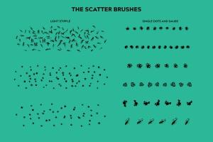 令人难以置信印象派点画绘画效果AI画笔笔刷 Incredible Impressionism | Brushes插图(9)