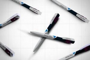 圆珠笔签字笔样机模板v13 Pen Mockup V.13插图14