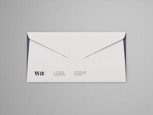 侧缝信封外观设计样机模板 Side Seam Envelope Mockup插图1