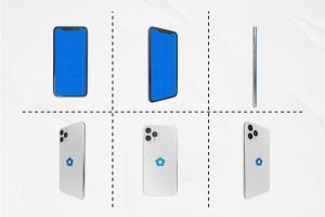 多角度全方位视觉iPhone 11手机样机模板 iPhone 11 Kit插图3