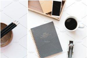 办公场景博客社交媒体贴图样机 NEW   Minimalist Stock Photo Bundle插图12