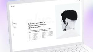白色超极本笔记本电脑样机模板 White Laptop Mockup插图2