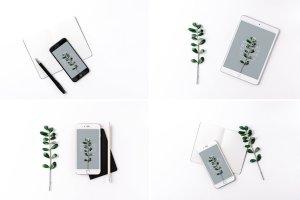 iPad & iPhone 真实场景样机模板 Minimal Mockup Pack Photorealistic插图4