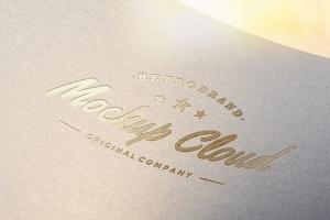 徽标Logo印刷效果展示样机合集 Logo Mockup Set插图11