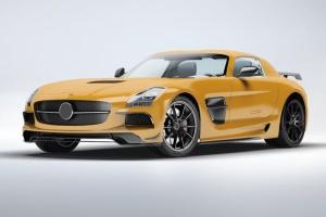 超级豪华跑车梅赛德斯SLS AMG样机模板 Supercar Mercedes SLS AMG Mock-Up插图6