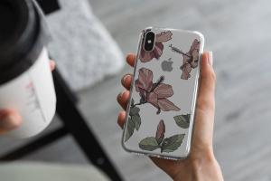 iPhone Xs透明手机壳外观设计效果图样机v2 iPhone Xs Clear Case Mock-Up vol.2插图9