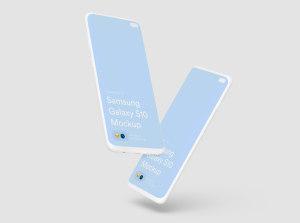 三星智能手机S10超级样机套装 Samsung Galaxy S10 Mockups插图28