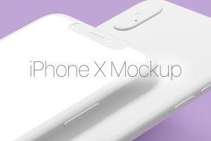 iPhone X 高清样机模板 iPhone X Mockup Set插图1