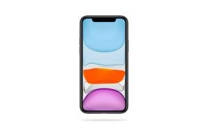 iPhone 11 Pro Max手机正面视图屏幕预览样机模板 iPhone 11 Pro Max Mockup插图2