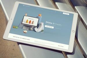 手持iPad Pro设备样机模板v8 iPad Pro Mockups v8插图6