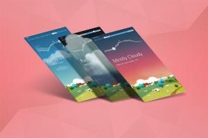 APP应用交互界面设计效果图样机 App Mock up – Isometric Scenes插图2