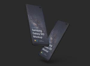 三星智能手机S10超级样机套装 Samsung Galaxy S10 Mockups插图26