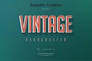 复古怀旧风格文本图层纹理v6 Vintage Text Effects Vol.6插图3