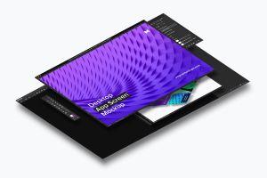桌面应用程序APP界面设计效果图样机02 Desktop App Screen Mockup 02插图4