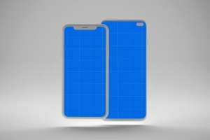 iOS&Android概念手机样机模板 Clean IOS & Android MockUp插图10