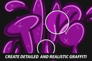 涂鸦艺术插画创作Procreate笔刷工具箱 The Graffiti Box: Procreate Brushes插图5