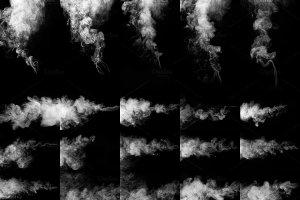 烟雾萦绕效果图层样式 Real Smoke-Fog overlay collection插图4