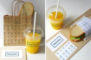三明治咖啡馆食品品牌样机模板 Sandwich cafe Mockup插图6