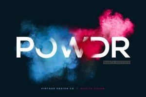 叹为观止的彩色粉末图层样式 POWDR – Black Edition插图1
