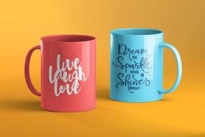 3D马克杯外观设计样机模板 Mug Mockup插图4