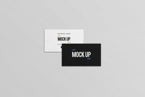 等距平铺企业名片设计样机模板 Business Card Mock Up插图5