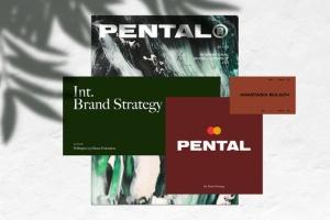 极简主义企业品牌设计展示样机模板 Pental No.2 – Minimalist Stationery Mockup插图2