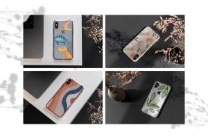 iPhone手机透明保护壳外观设计样机模板 iPhone Clear Case Mock-Up's插图2