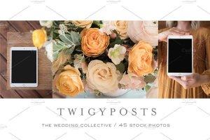 婚礼场景照片样机合集 Ultimate Wedding Stock Photo Bundle插图9