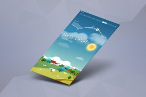 APP应用交互界面设计效果图样机 App Mock up – Isometric Scenes插图1