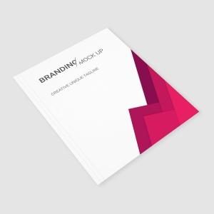 企业VI标识设计预览办公用品套件样机 Branding Identity – Material Triangle for Psd插图6