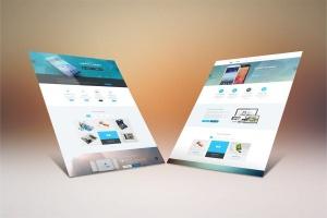 网站设计案例预览样机模板 Website Display Mockup插图5