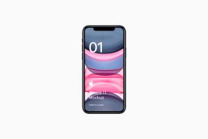 全新iPhone 11手机屏幕界面演示样机模板[PSD格式]插图5