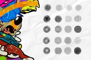 POP波普艺术Procreate笔刷套装 POP ART BRUSHES KIT插图4